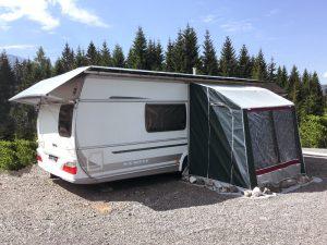 Standard Wohnwagen Schutzdach